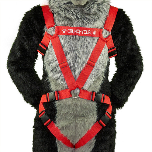 TRI-Harness with Leg-Straps and Custom Embroidery