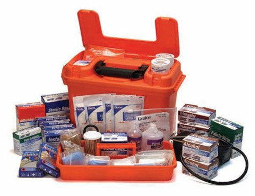 Kits & First Aid Cabinet Supplies - Deluxe Trauma Kit: Full