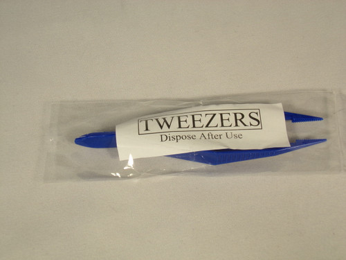 Tweezers, Plastic Single Use - Individually wrapped