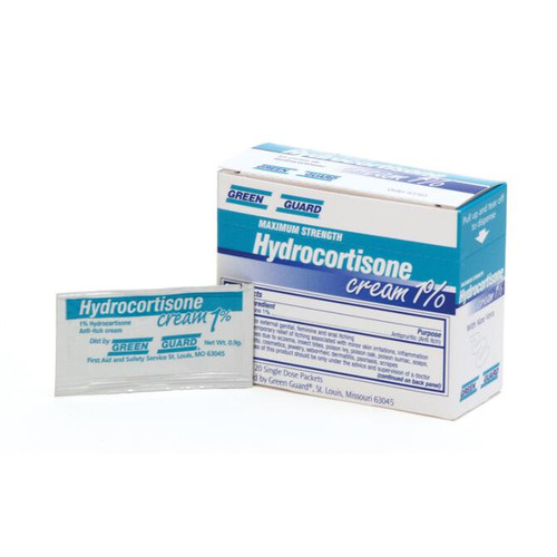 Hydrocortisone Cream 1% Packets