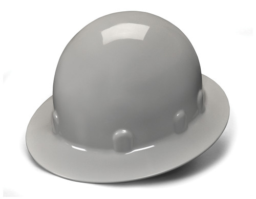 SLEEK SHELL FEATURES • Polyethylene materials. • Offers impact and penetration resistance. • Ridgeless low profile design. • No rain trough - prevents pooling of liquids. • Ideal for linemen - Exceeds ANSI Type 1, Class E Standards. • Soft brow pad absorbs perspiration. • Custom imprinting available on all hard hats. • Exceeds ANSI Z89.1-2009 Standards, Type 1, Class C, G and E.