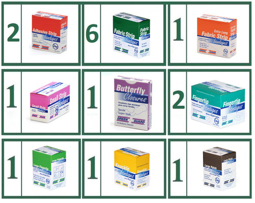 Bandaid Refill Bundle -  Large Variety