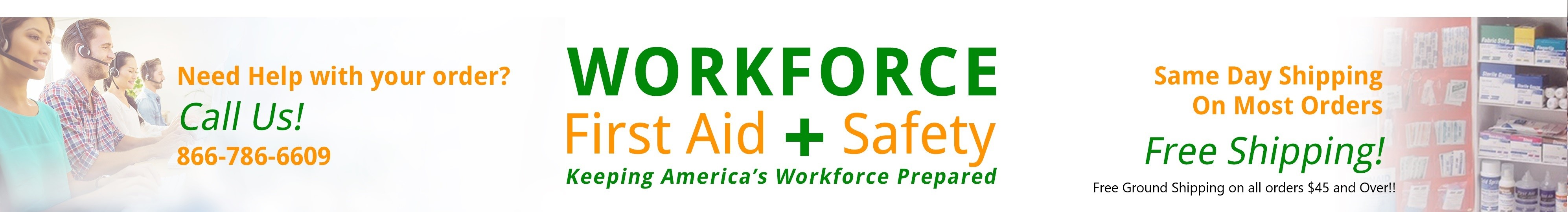 Workforce First Aid & Safety