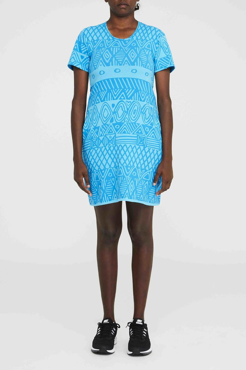Short Pocket Dress - Turlini Aqua