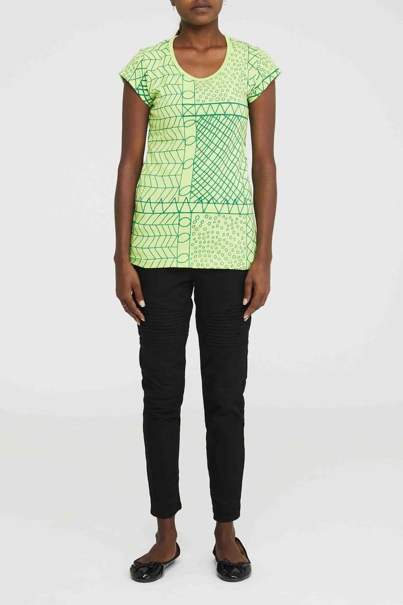 Tshirt - Yirrikipayi Green