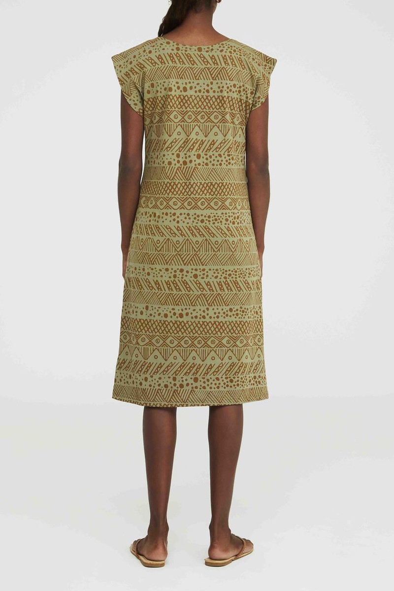 Box Dress - Irrimaru Khaki