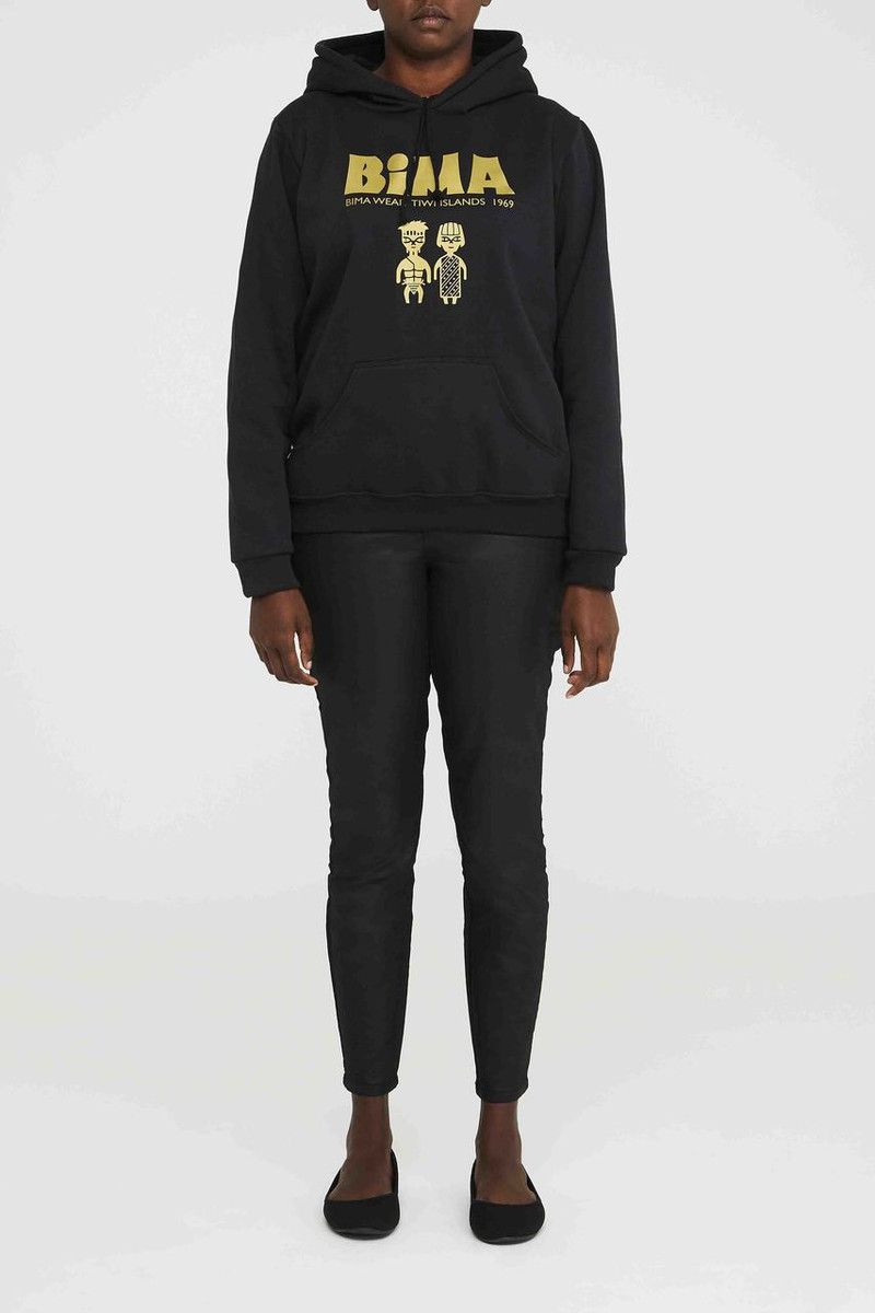 Hoodie - Black and Gold