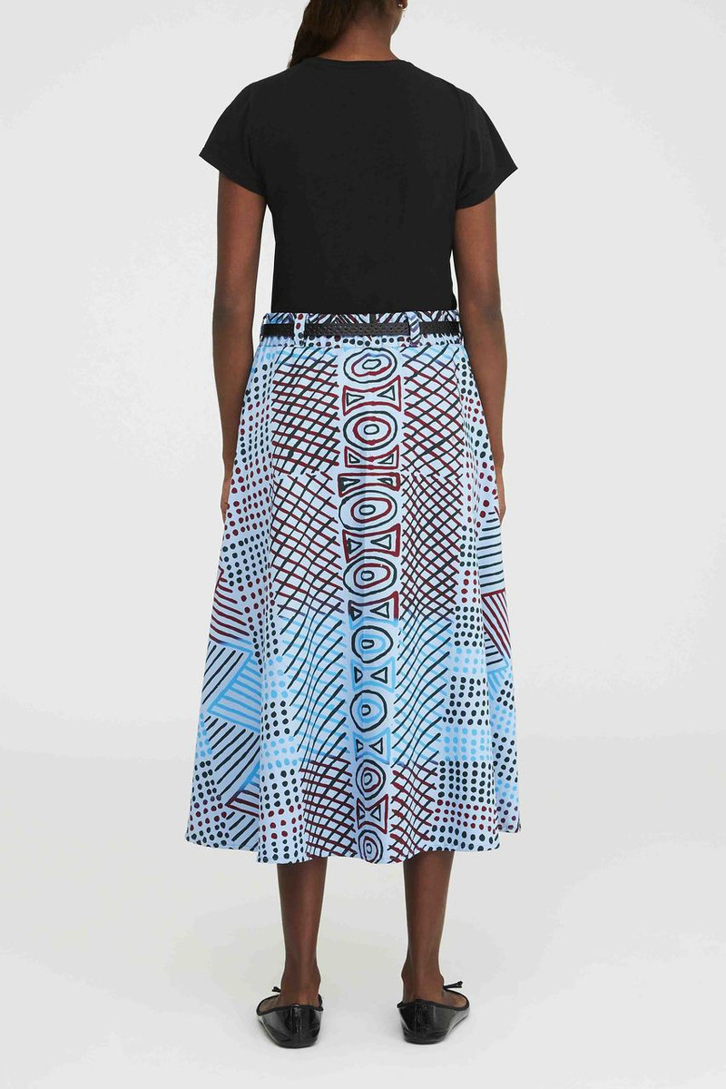 Vintage Pocket Skirt - Jilamara Blue