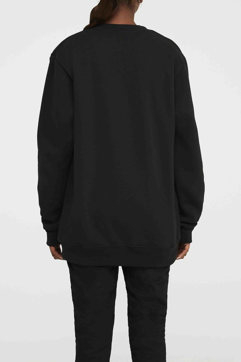 Sweatshirt - Black Silver