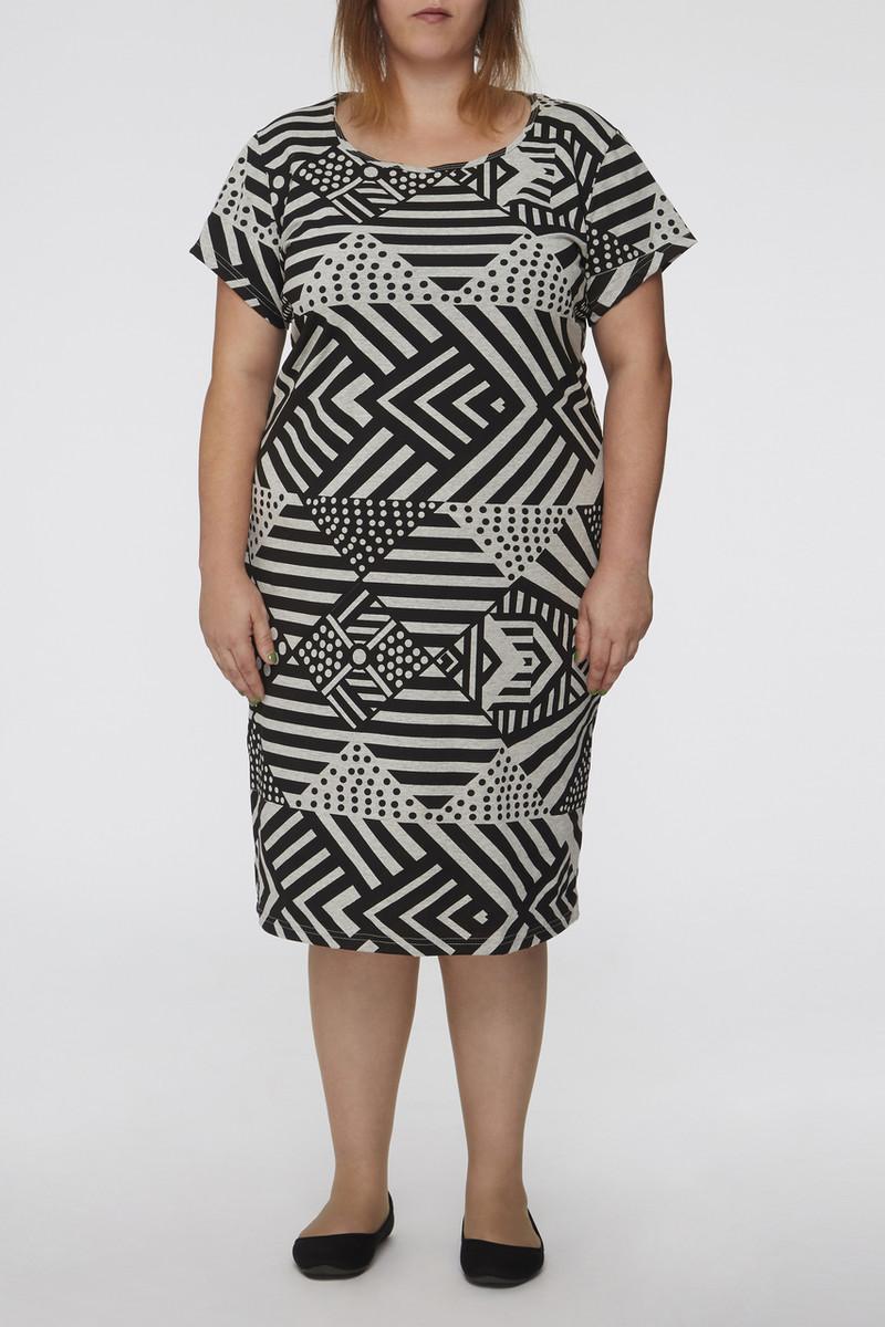 Tee Sleeve Dress - Tunga Black Marle