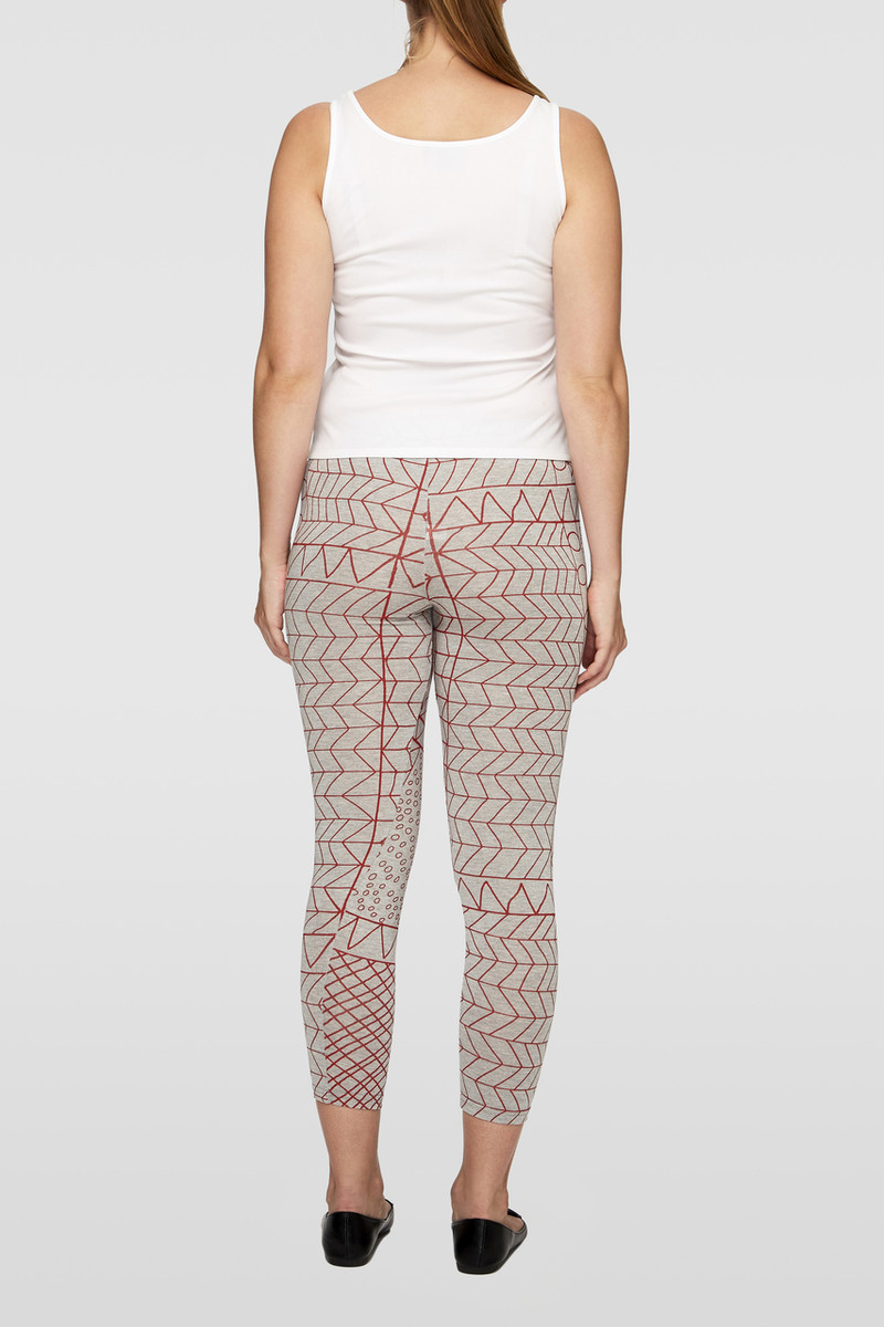 Legging - Yirrikipayi Red Marle