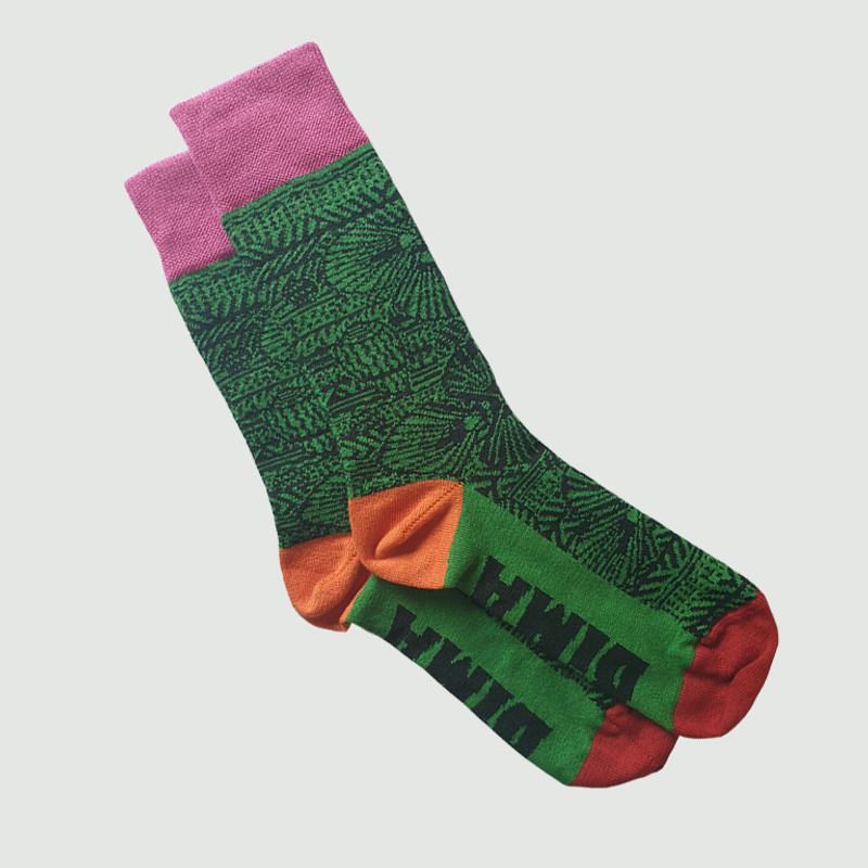 Bima Wear Green Socks - Australian Cotton