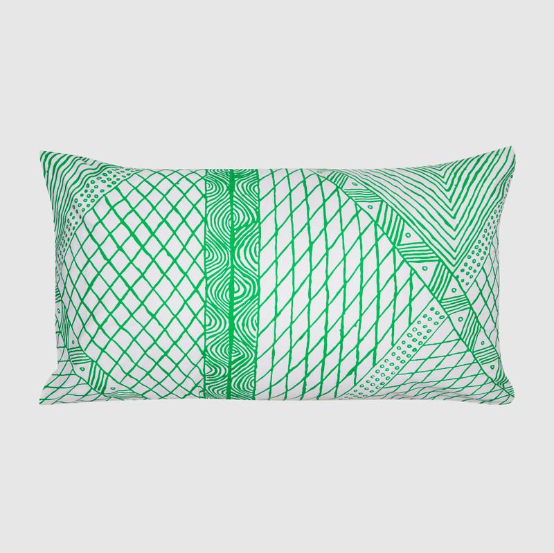 Pillowcase Jilamara in Green
