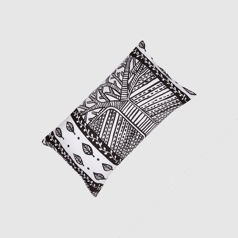 Pillowcase Tree of Life in Black