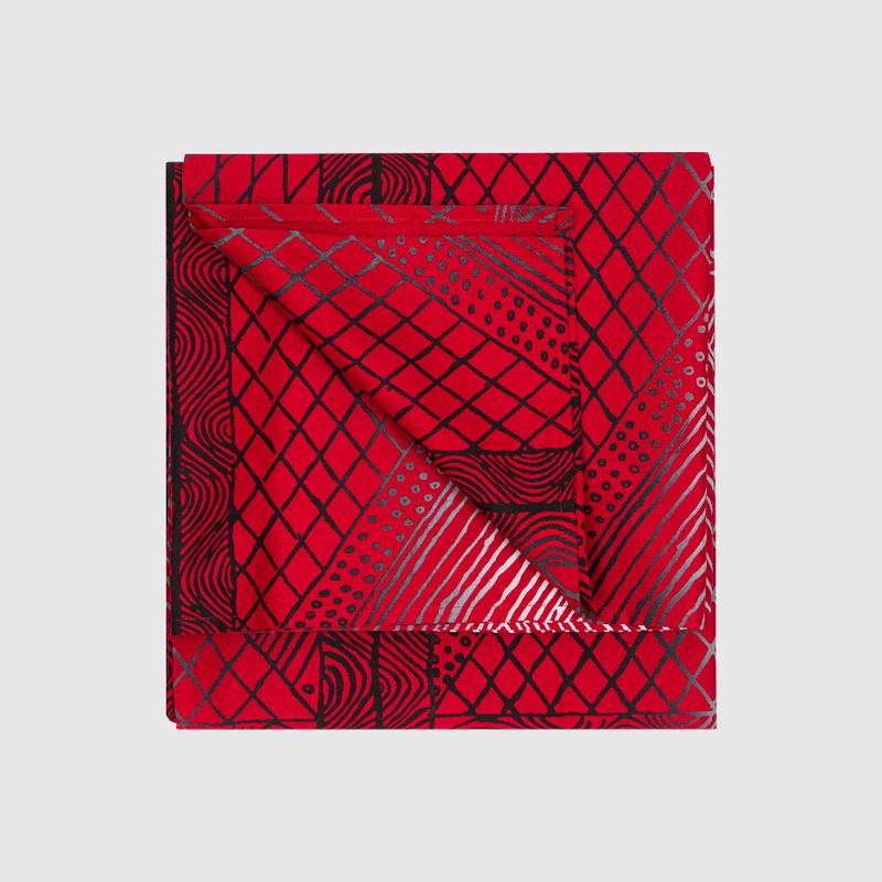 Tablecloth Large Rectangle Jilamara Red