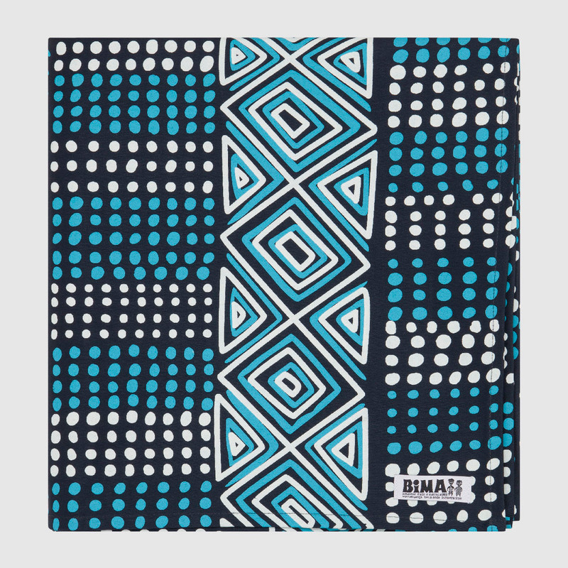 Tablecloth Large Rectangle Jilamara Blue