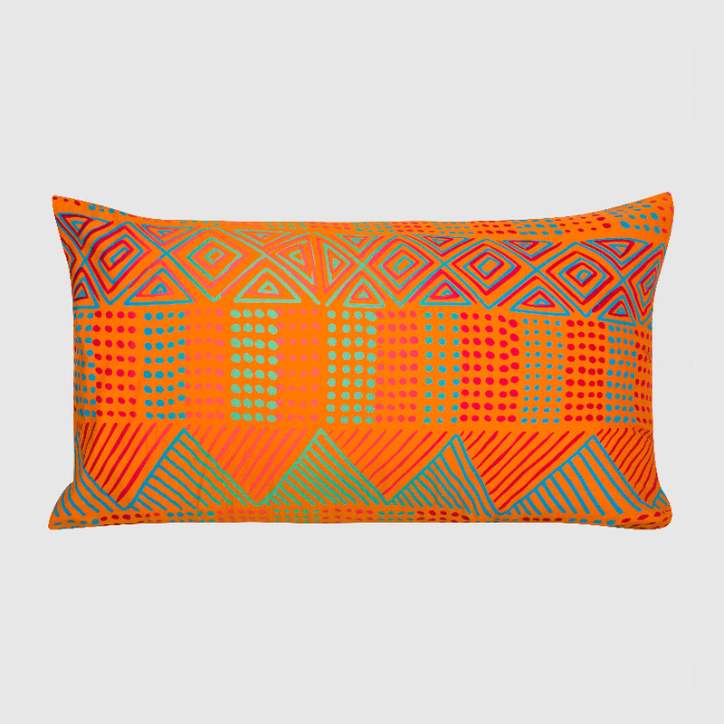 Pillowcase Jilamara Bright Orange