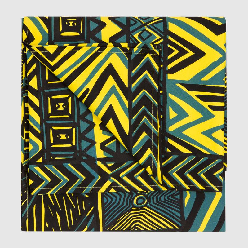 Tablecloth Large Rectangle Turtini Bright Yellow