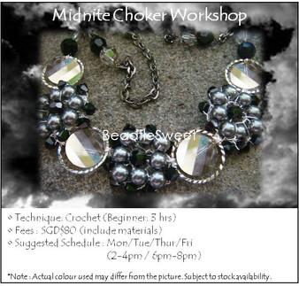 Jewelry Making Course : Midnite Choker