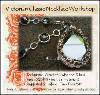 Jewelry Making Course : Victorian Class Necklace Workshop