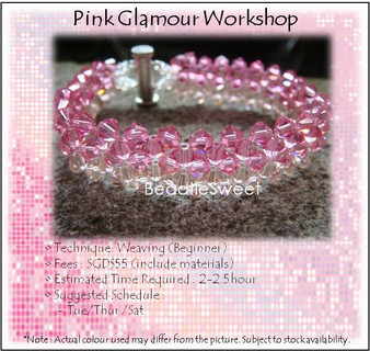 Jewelry Making Course : Pink Glamour Workshop
