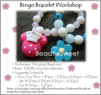 Jewelry Making: Bingo Bracelet Workshop