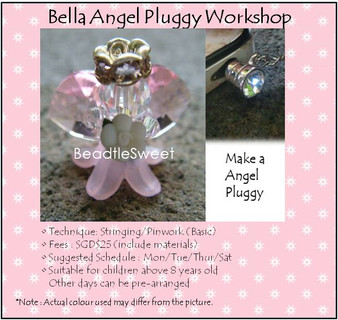 Jewelry Making: Bella Angel Pluggy Workshop