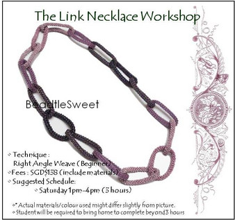 Jewelry Making Course : The Link Necklace Workshop