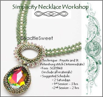 Jewelry Making Course : Simplicity Necklace Workshop