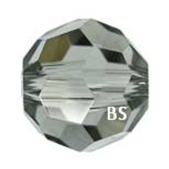 Swarovski 5000 Black Diamond Round Bead