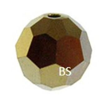 Swarovski 5000 Crystal Dorado 2X Round Bead
