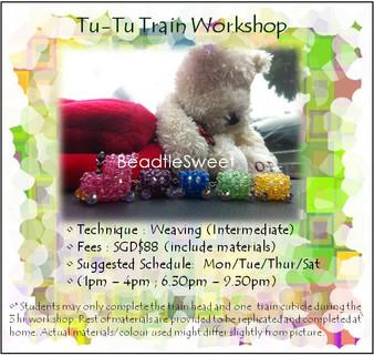 Jewelry Making: Make a Tu-Tu Train Workshop
