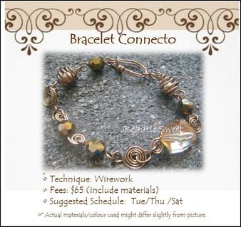 Jewelry Making: Bracelet Connecto Workshop