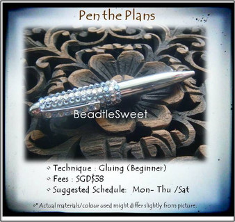 Jewelry Making: Pen the Plans Workshop