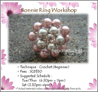 Jewelry Making Course : Bonnie Ring Workshop