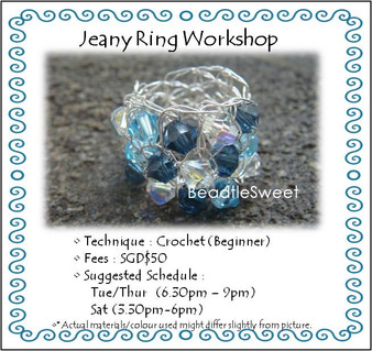 Jewelry Making Course : Jeany Ring Workshop