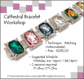 Jewelry Making Course : Cathedral Bracelet Workshop