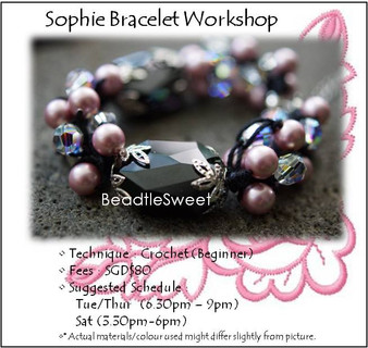 Jewelry Making Course : Sophie Bracelet Workshop
