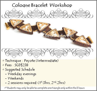 Jewelry Making Course : Cologne Bracelet Workshop