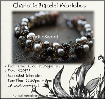 Jewelry Making Course : Charlotte Bracelet Workshop
