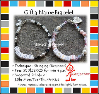 Jewelry Making Course: Gift a Name Bracelet Workshop