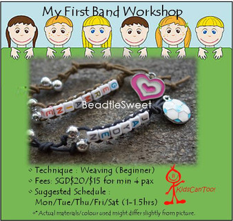 Jewelry Making Course: My First Band Workshop