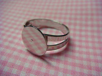 Adjustable Ring Finding with 12mm ring base