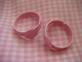 Children Ring Finding with 8mm Round Base Plate
