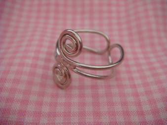 Wire Coiled Ring Finding