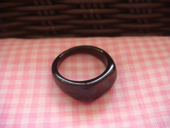 Small Acrylic Ring Finding (Black)