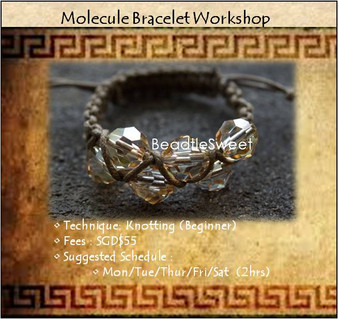 Jewelry Making Workshop : Molecule Bracelet Workshop