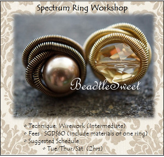 Jewellery Making: Spectrum Ring Workshop