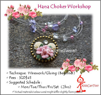 Jewelry Making Course: Hana Necklace Workshop