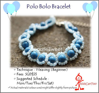 Jewelry Making Course: Polo Bolo Bracelet Workshop